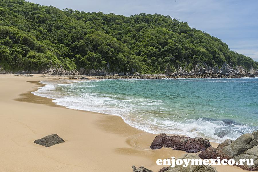 пляж техонсито ватулько мексика фото фотография