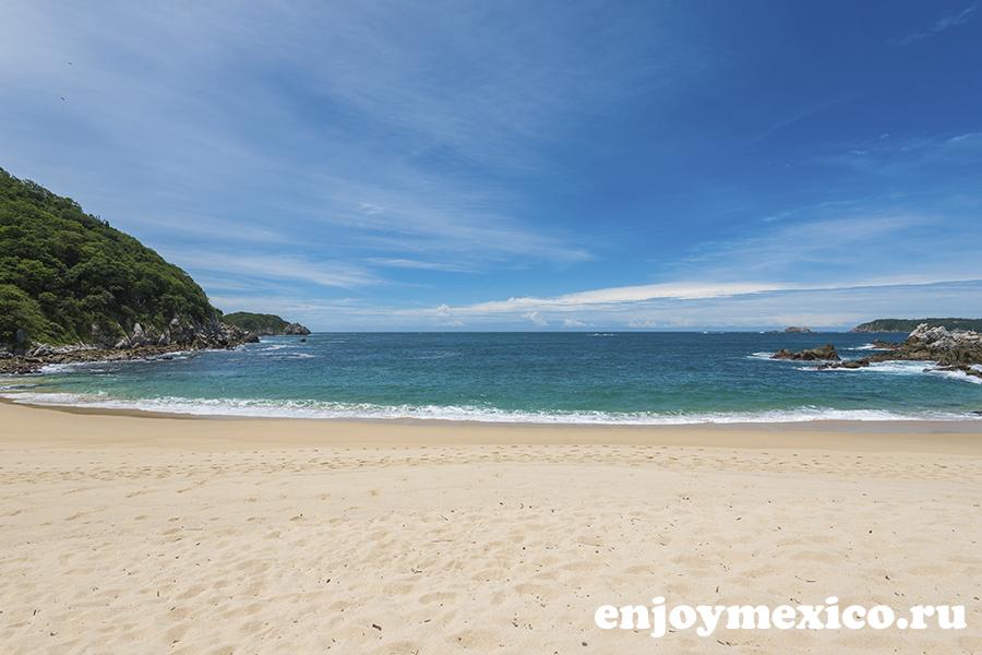 пляж техонсито ватулько мексика