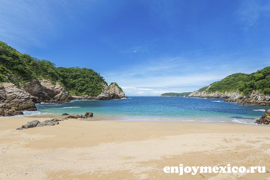 пляж виолин уатулько мексика фотография