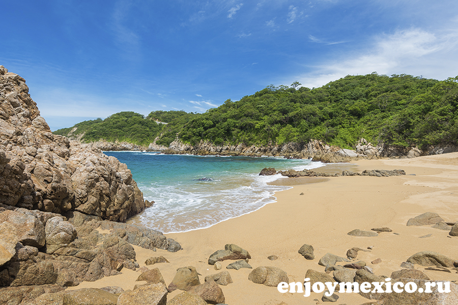 пляж виолин уатулько мексика