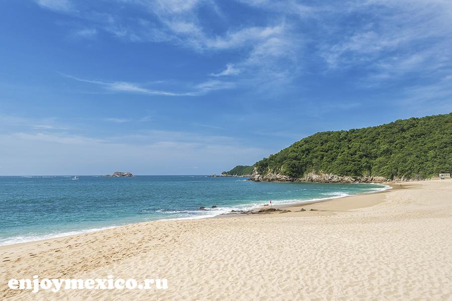 пляж в уатулько мексика