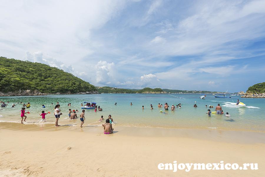 пляжи мексики в уатулько