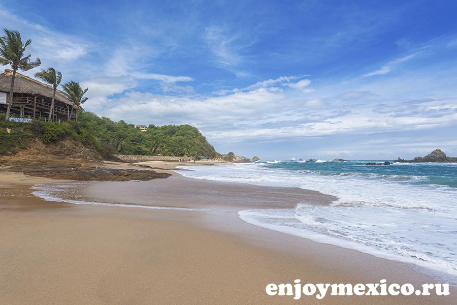 тихий океан мексика масунте