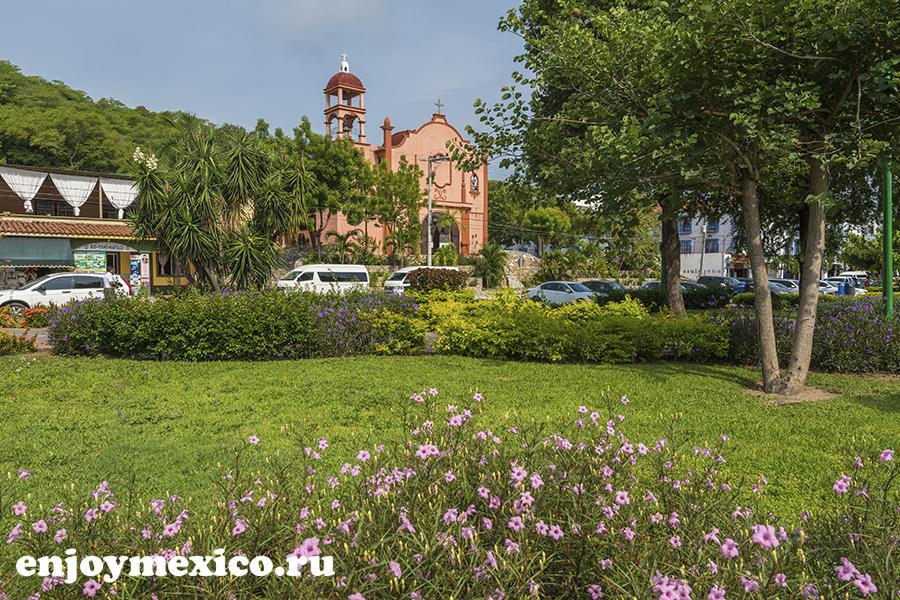 центр города уатулько мексика