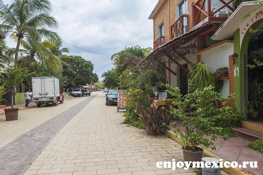 центр зиполите мексика чистый город