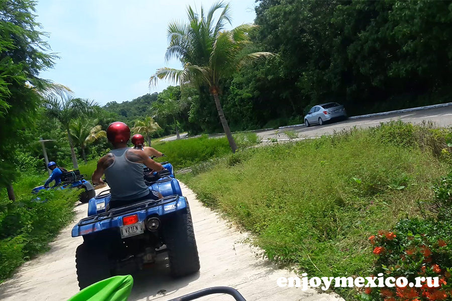 тур квадроциклы уатулько мексика заезд