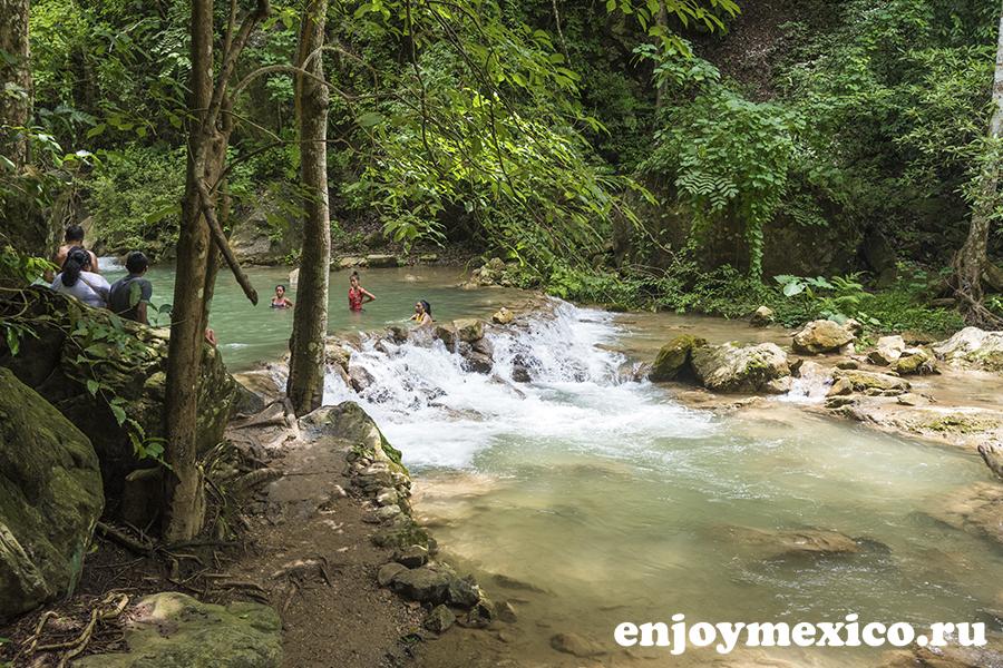 водопад уатулько мексика фото