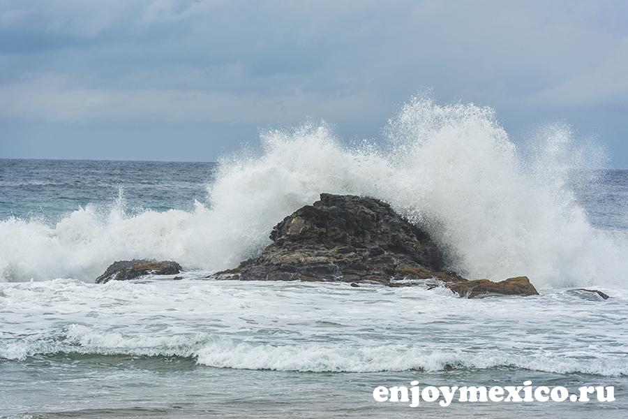 волны в зиполите мексика