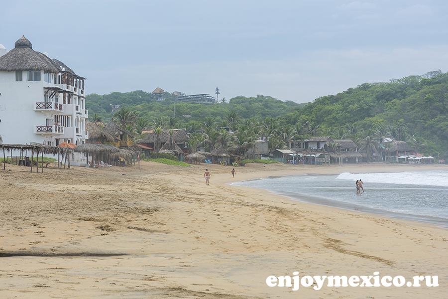зиполите мексика фото пляж