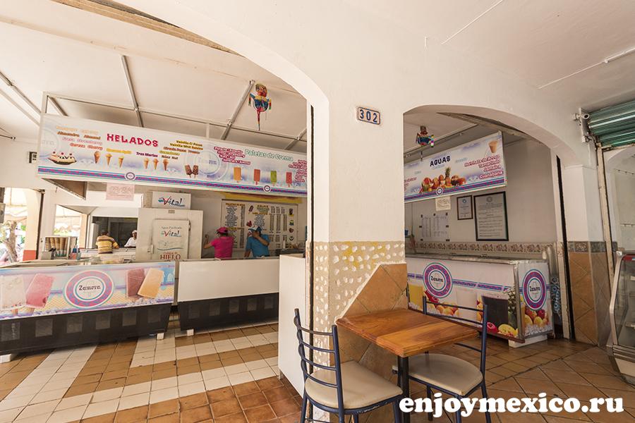 кафе по продаже мороженого мексика