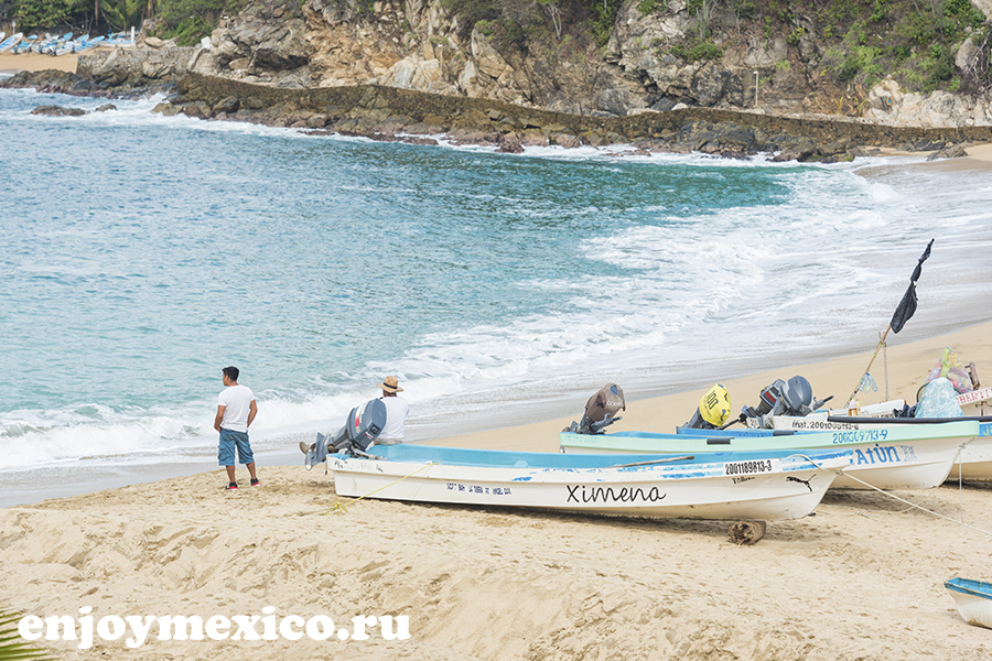 лодки и рыбаки пуэрто ангель мексика