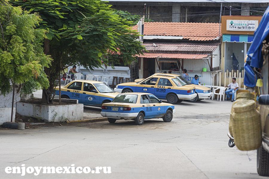 машина на улитце пуэрто ангель мексика