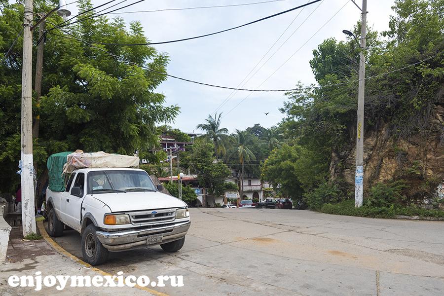 пуэрто ангель мексика