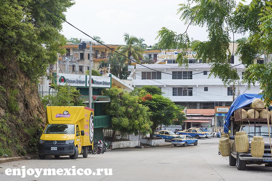 улица пуэрто ангель мексика