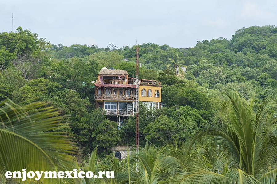 жилье в пуэрто анегль мексика