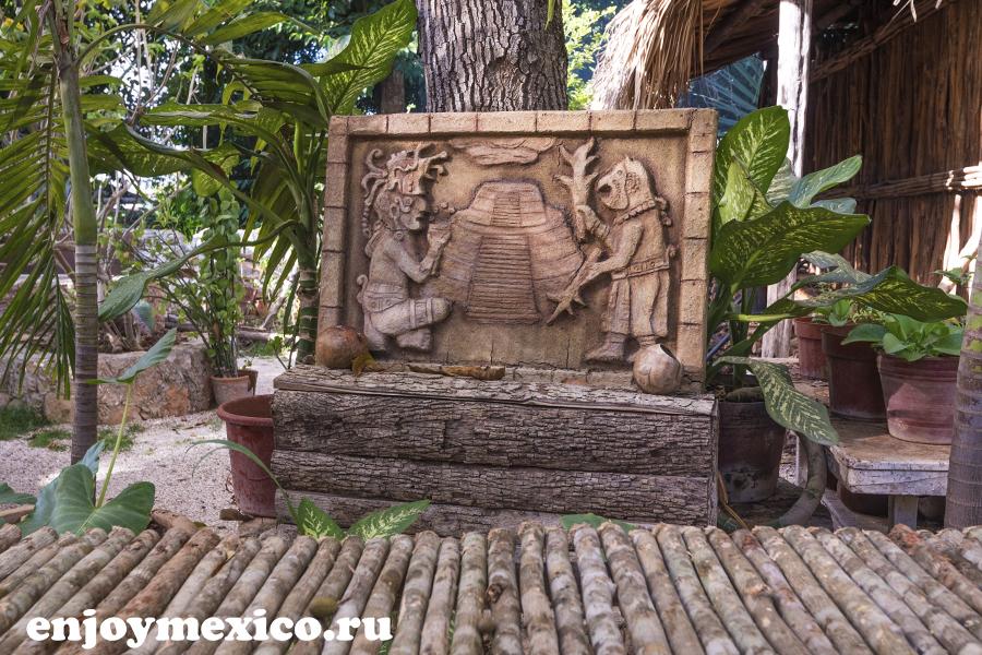 декор ресторан в мексике