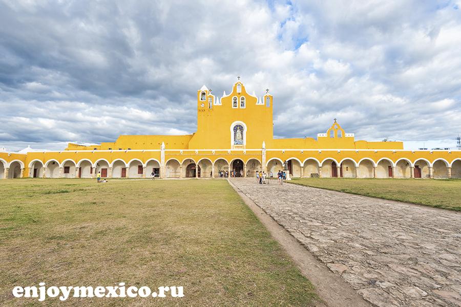 изамаль мексика монастырь сан антонио падуа