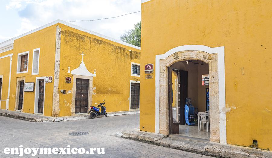 изамаль в мексике фото