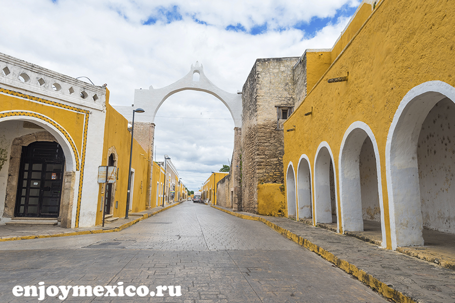 изамаль в мексике