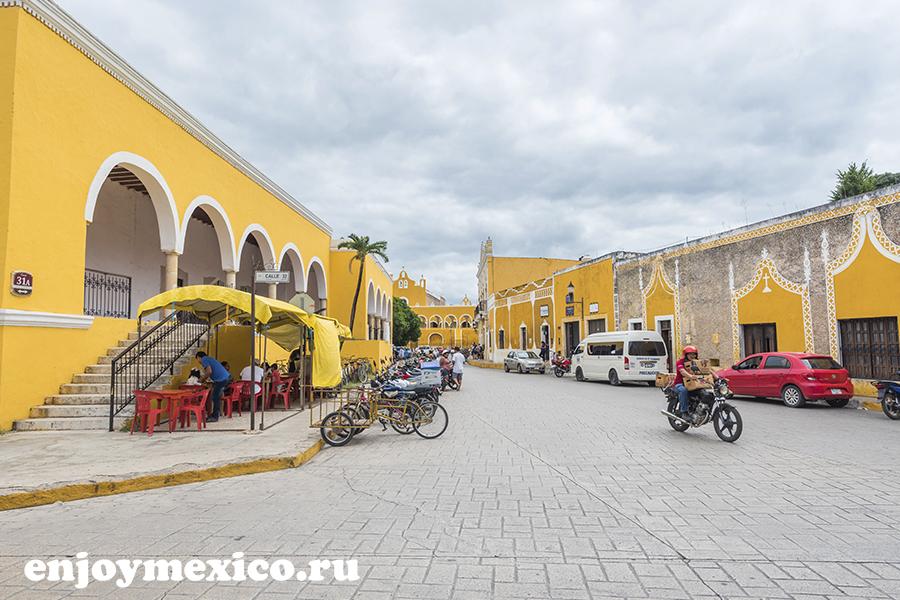 изамаль улица в мексике