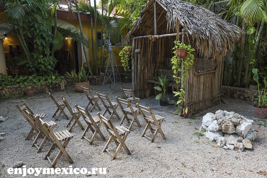 изамаль мексика фото ресторан