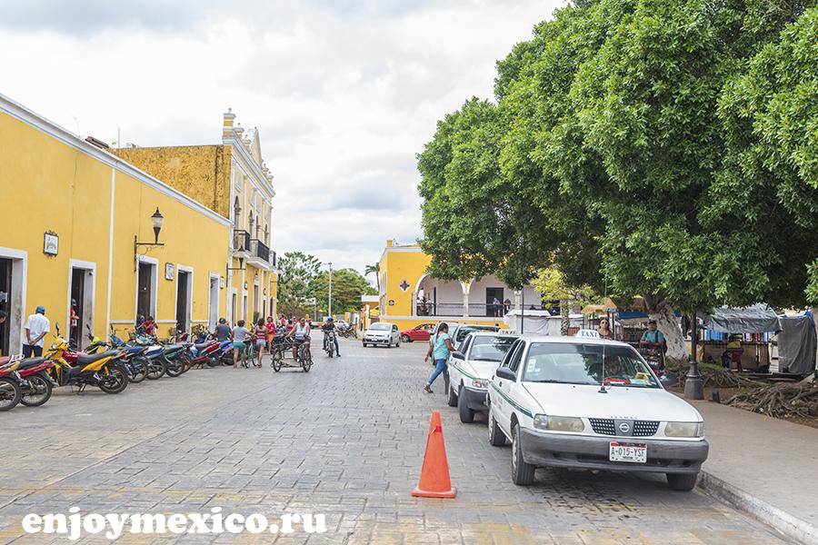 такси в изамаль мексика