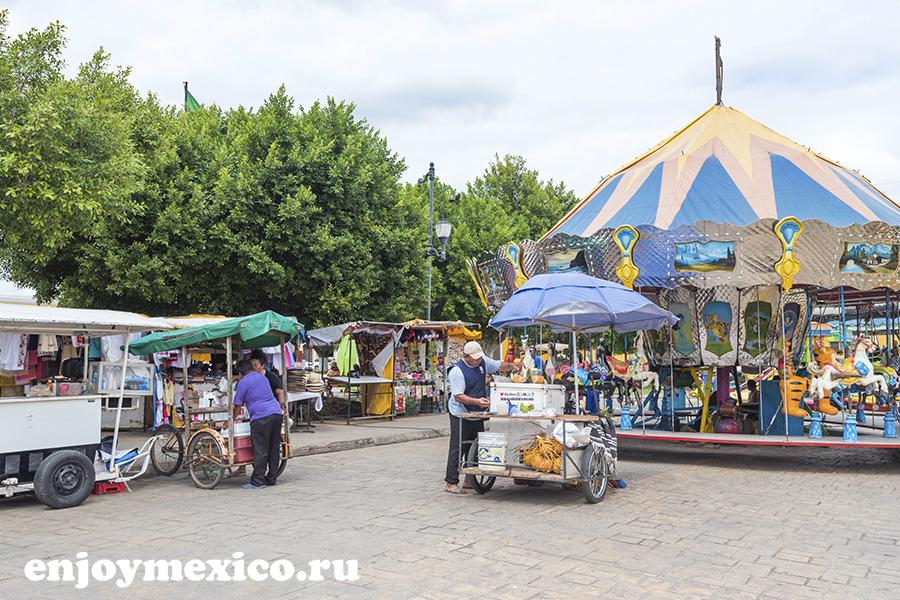 центр города изамаль мексика