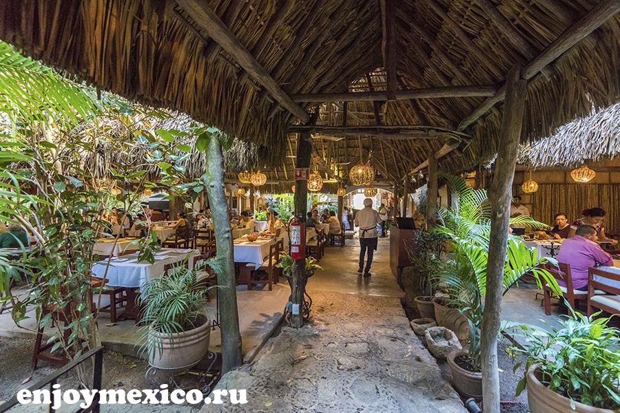 зал в ресторане киних мексика