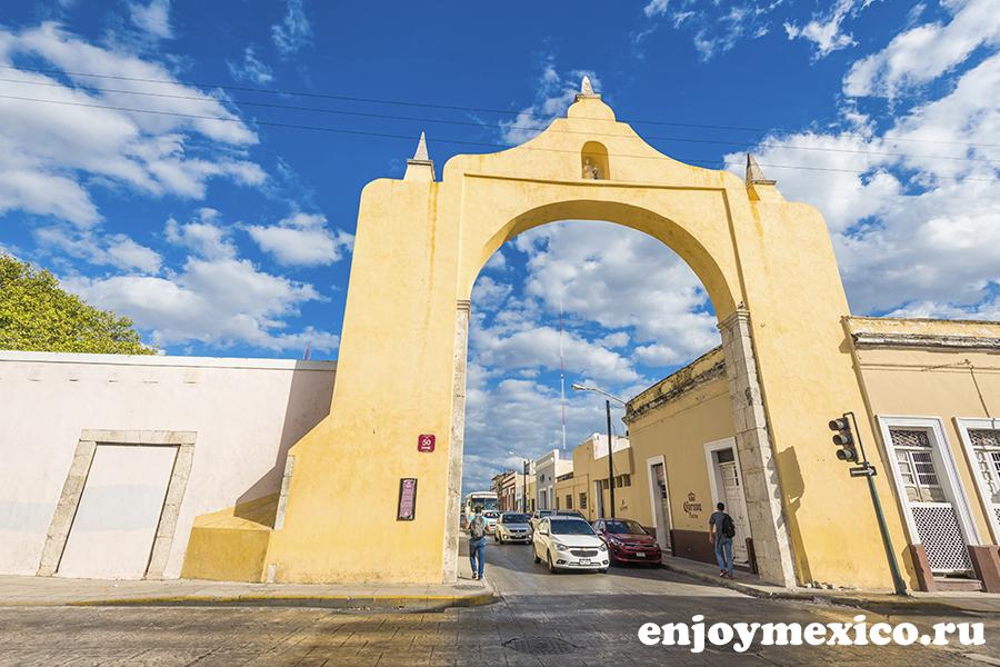 арка мерида мексика