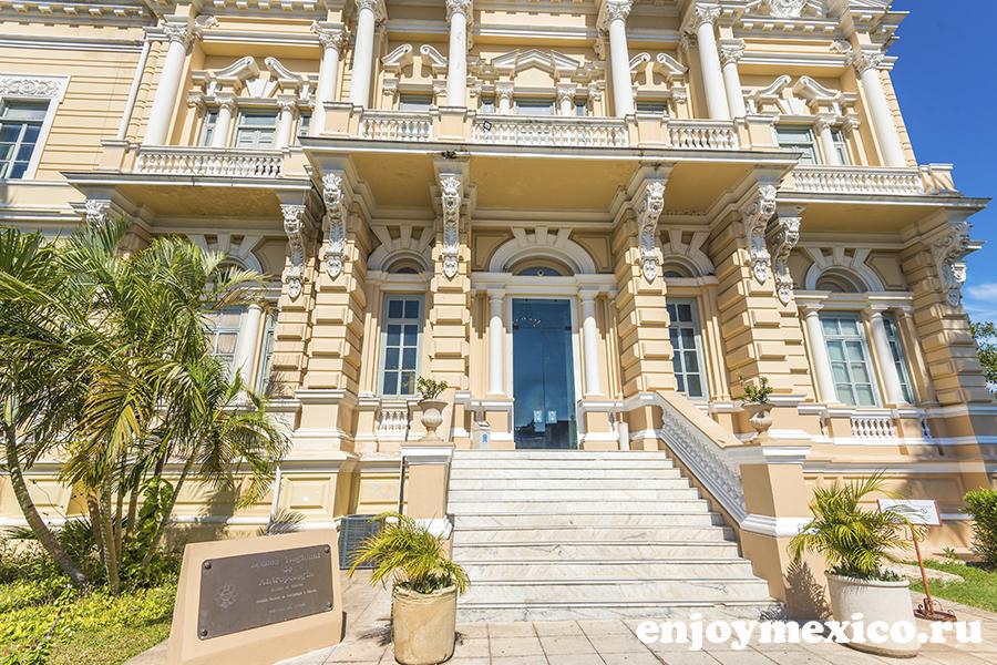 дворец паласио кантон мерида фото
