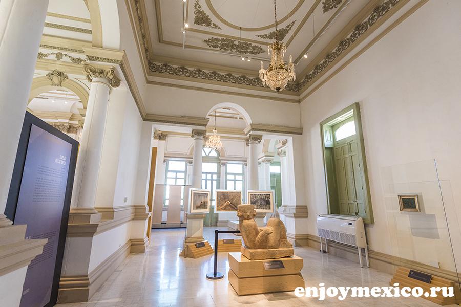 дворец паласио кантон в мериде мексика