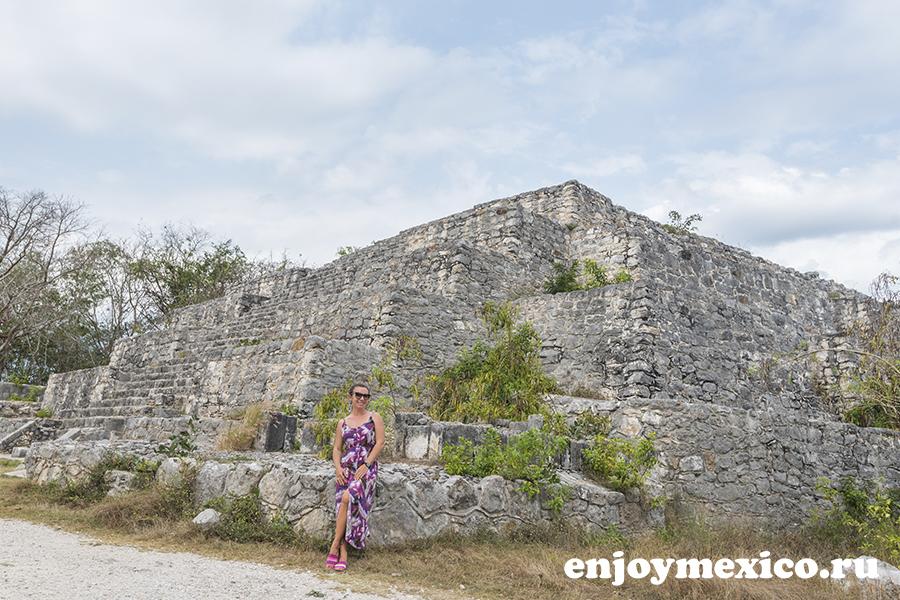 джибилтантун мерида мексика пирамиды
