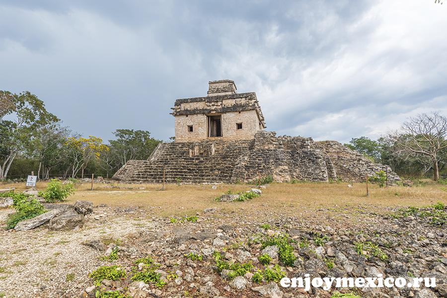 джибилтантун пирамиды мерида мексика