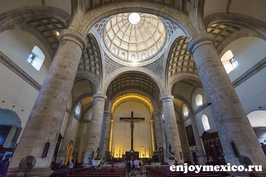главный собор в мериде мексика