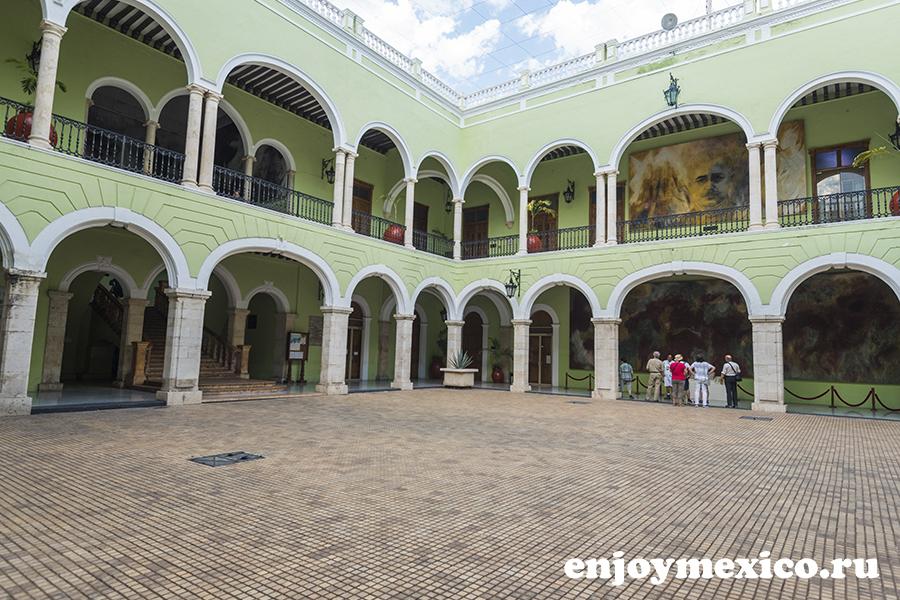 городской дворец правительства мерида мексика