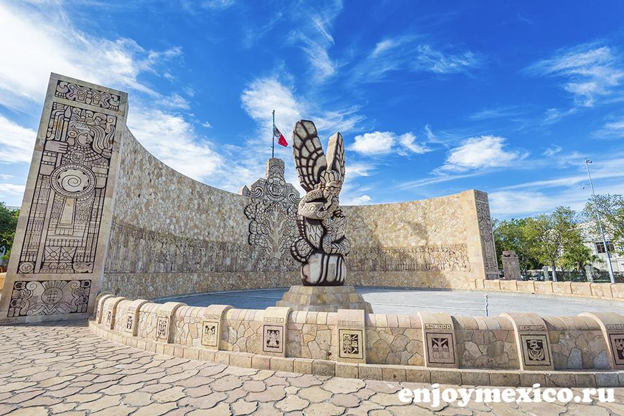 мерида мексика памятник