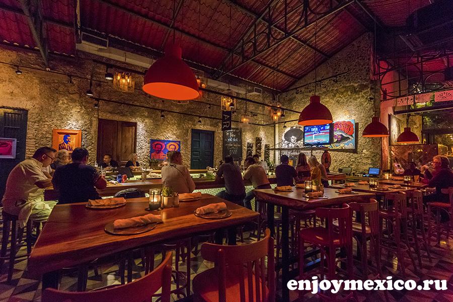 панчо ресторан мерида мексика фото