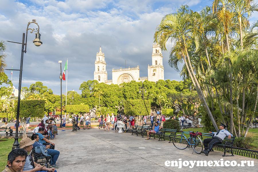 парк в мериде мексика