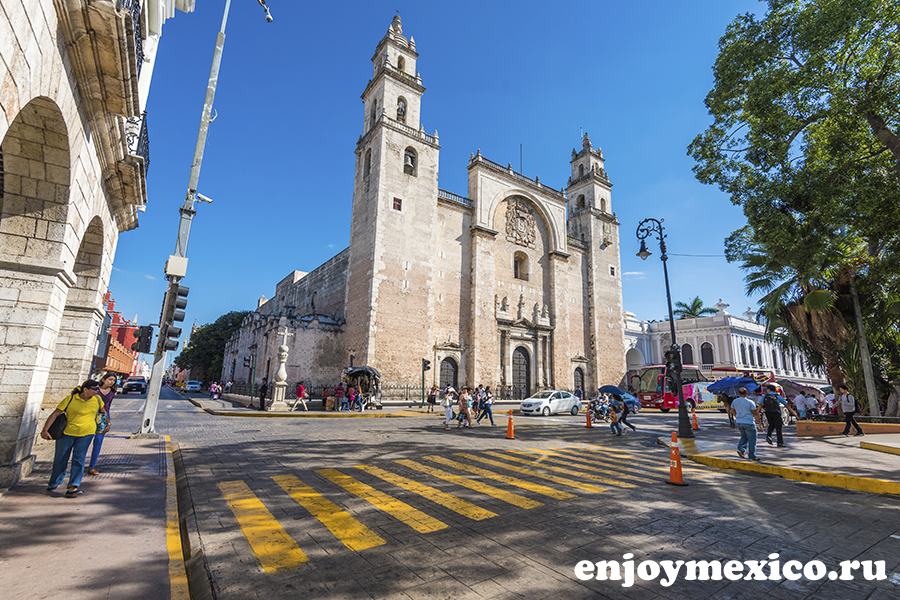 собор в мериде мексика