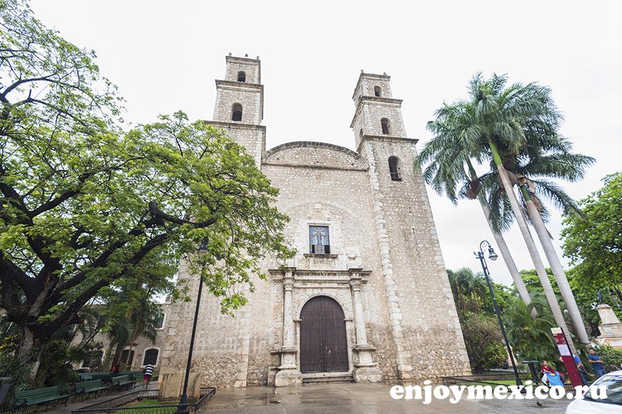 собор санта лусия мерида мексика