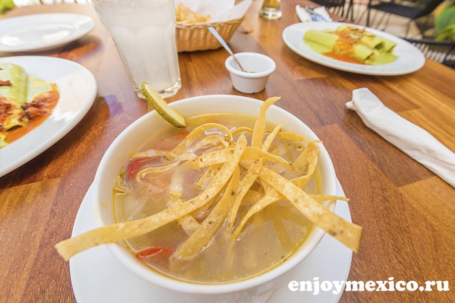 суп в ресторане мерида мексика